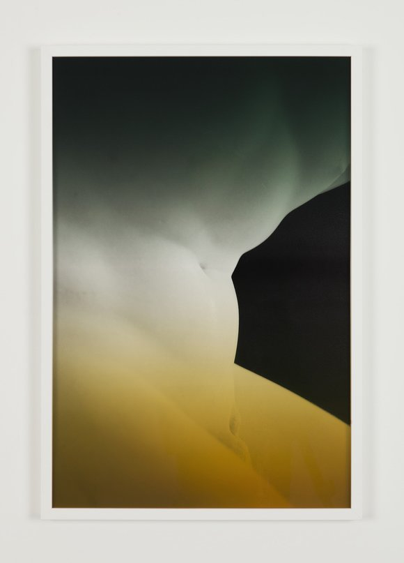Espen gleditsch   ilioneus, 2017, 40x60 cm, archival pigment print & foil on glass
