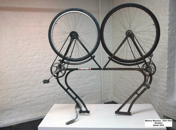 Markus moestue bicycle sculpture