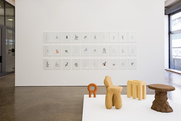 Carwan gallery sigve knutson drawing objects beirut 08 ph. marwan harmouche