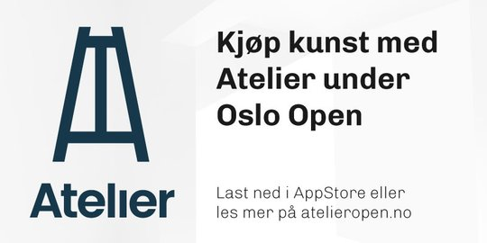 Buy art with Atelier during Oslo Open